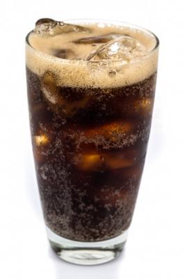 glass of pop