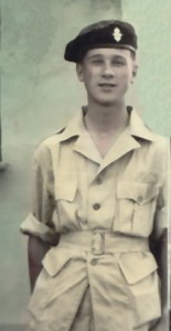 My dad serving in the British army as a young man in the early '50s