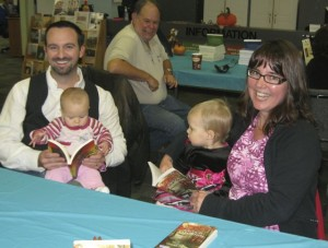 authors and babies