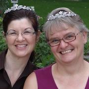 pic of Valerie Comer and Angela Breidenbach