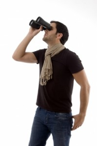 ID-100118956 guy with binoculars